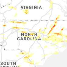 Regional Hail Map for Raleigh, NC - Friday, May 31, 2019