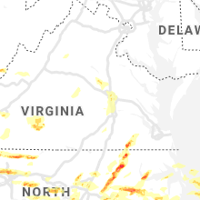 Regional Hail Map for Richmond, VA - Friday, May 31, 2019