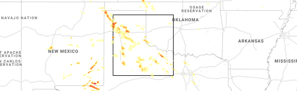 Hail Map for Childress, TX - Saay, June 1, 2019 Childress Texas Map on
