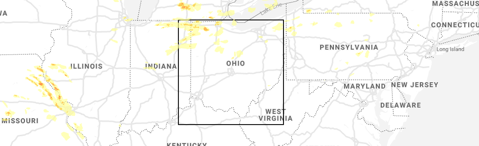 Interactive Hail Maps - Hail Map for Mansfield, OH on