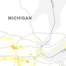 Hail Map for flint-mi 2019-06-01