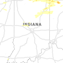 Regional Hail Map for Indianapolis, IN - Saturday, June 1, 2019
