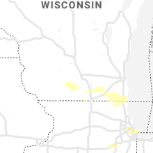 Regional Hail Map for Madison, WI - Saturday, June 1, 2019