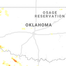 Regional Hail Map for Oklahoma City, OK - Saturday, June 1, 2019