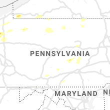 Regional Hail Map for State College, PA - Saturday, June 1, 2019