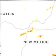 Hail Map for albuquerque-nm 2019-06-02