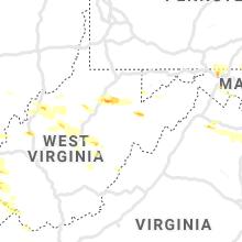 Hail Map for elkins-wv 2019-06-02