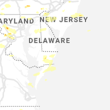 Regional Hail Map for Ocean City, MD - Sunday, June 2, 2019