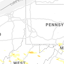 Regional Hail Map for Pittsburgh, PA - Sunday, June 2, 2019
