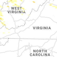 Regional Hail Map for Roanoke, VA - Sunday, June 2, 2019