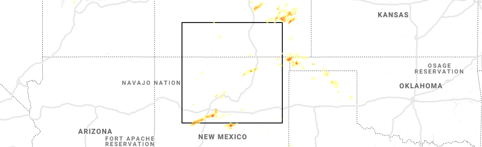 Interactive Hail Maps - Hail Map for Angel Fire, NM