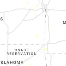 Regional Hail Map for Chanute, KS - Monday, June 3, 2019