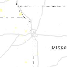 Regional Hail Map for Kansas City, MO - Monday, June 3, 2019