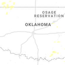 Regional Hail Map for Oklahoma City, OK - Monday, June 3, 2019