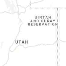 Regional Hail Map for Price, UT - Monday, June 3, 2019