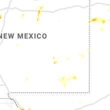 Regional Hail Map for Roswell, NM - Monday, June 3, 2019