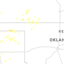 Regional Hail Map for Woodward, OK - Monday, June 3, 2019