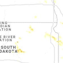 Hail Map for aberdeen-sd 2019-06-04