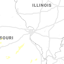 Regional Hail Map for Saint Louis, MO - Tuesday, June 4, 2019