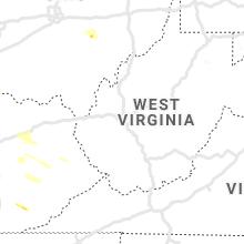 Regional Hail Map for Charleston, WV - Wednesday, June 5, 2019