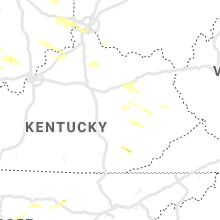 Regional Hail Map for Irvine, KY - Wednesday, June 5, 2019