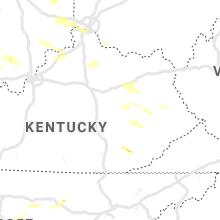Hail Map for irvine-ky 2019-06-05