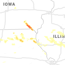 Regional Hail Map for Kahoka, MO - Wednesday, June 5, 2019