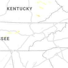 Regional Hail Map for Knoxville, TN - Wednesday, June 5, 2019
