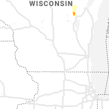 Regional Hail Map for Madison, WI - Wednesday, June 5, 2019
