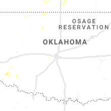 Regional Hail Map for Oklahoma City, OK - Wednesday, June 5, 2019