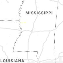 Regional Hail Map for Jackson, MS - Thursday, June 6, 2019