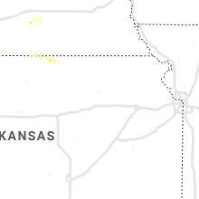 Regional Hail Map for Manhattan, KS - Thursday, June 6, 2019