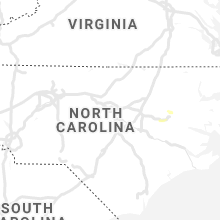 Regional Hail Map for Raleigh, NC - Thursday, June 6, 2019