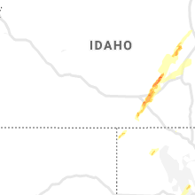 Regional Hail Map for Twin Falls, ID - Thursday, June 6, 2019