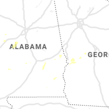 Regional Hail Map for Auburn, AL - Friday, June 7, 2019