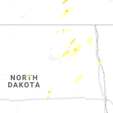Regional Hail Map for Devils Lake, ND - Friday, June 7, 2019