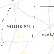 Regional Hail Map for Starkville, MS - Friday, June 7, 2019