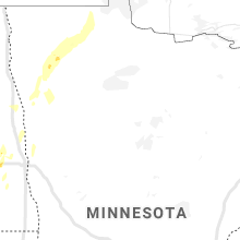Regional Hail Map for Bemidji, MN - Saturday, June 8, 2019