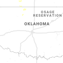 Regional Hail Map for Oklahoma City, OK - Saturday, June 8, 2019