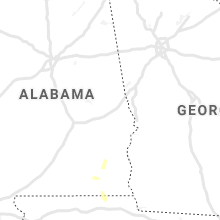 Regional Hail Map for Auburn, AL - Sunday, June 9, 2019