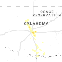 Regional Hail Map for Oklahoma City, OK - Sunday, June 9, 2019
