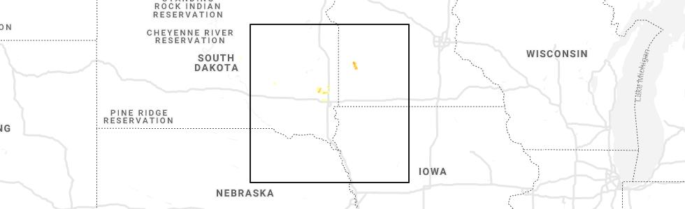 Interactive Hail Maps - Hail Map for Lynd, MN