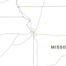 Regional Hail Map for Kansas City, MO - Wednesday, June 12, 2019