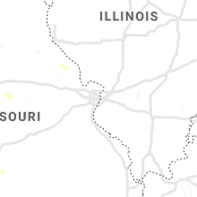Regional Hail Map for Saint Louis, MO - Wednesday, June 12, 2019