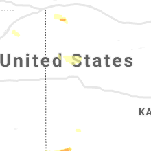 Regional Hail Map for Colby, KS - Thursday, June 13, 2019