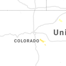 Regional Hail Map for Denver, CO - Thursday, June 13, 2019
