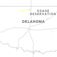 Regional Hail Map for Oklahoma City, OK - Thursday, June 13, 2019