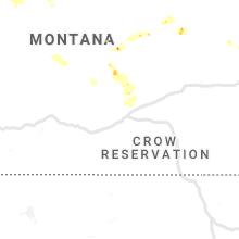 Regional Hail Map for Billings, MT - Friday, June 14, 2019