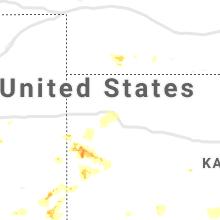 Regional Hail Map for Colby, KS - Friday, June 14, 2019