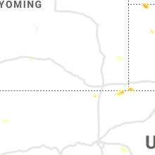 Regional Hail Map for Laramie, WY - Friday, June 14, 2019